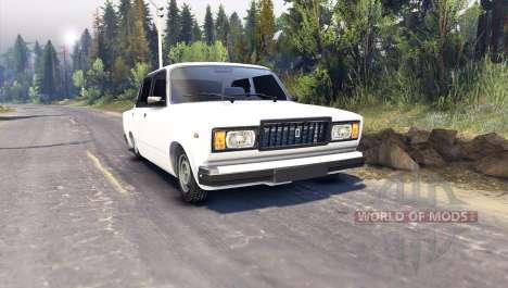 ВАЗ-2107 для Spin Tires