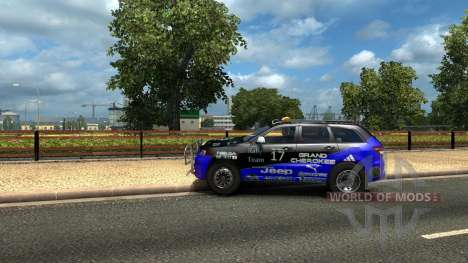 Jeep Grand Cherokee SRT8 для Euro Truck Simulator 2