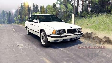 BMW M5 (E34) 1995 v1.1 для Spin Tires