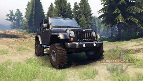 Jeep Wrangler black для Spin Tires