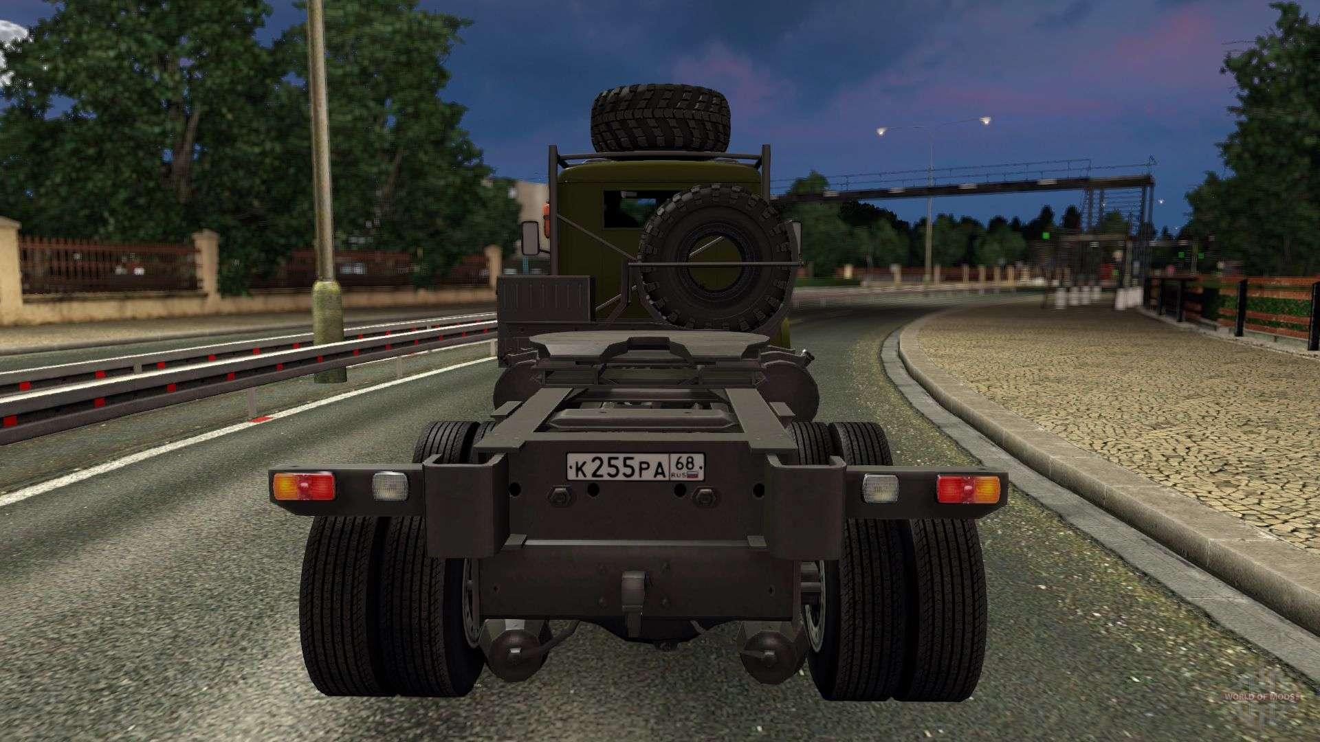 Euro Truck Simulator 2 Мод Краз 255