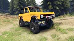 Ford Bronco 1966 [orange]