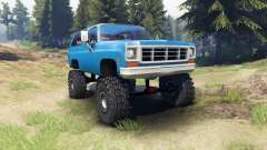 Chevrolet K5 Blazer 1975 [final] [blue]