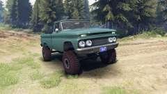 Chevrolet С-10 1966 Custom tropic turquoise