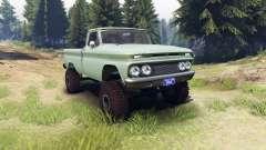 Chevrolet С-10 1966 Custom willow green