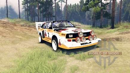 Audi Sport quattro S1 для Spin Tires