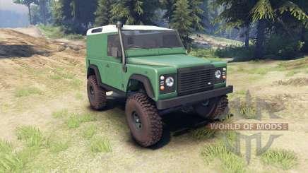 Land Rover Defender 90 [hard top] для Spin Tires