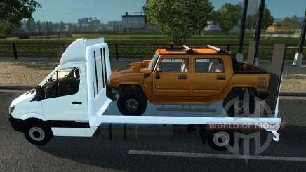 Sprinter Mega Mod v1 для Euro Truck Simulator 2
