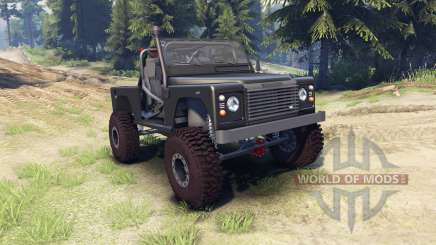 Land Rover Defender 90 [open top] для Spin Tires