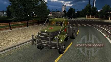 КрАЗ 255 для Euro Truck Simulator 2