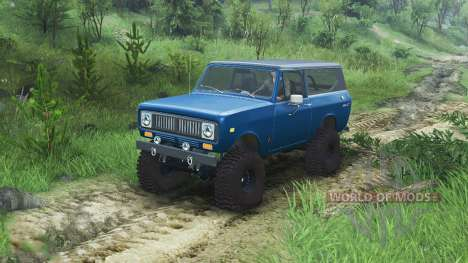 International Scout II 1977 [bimini blue poly] для Spin Tires