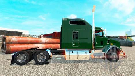 Kenworth T800 v1.0 для Euro Truck Simulator 2