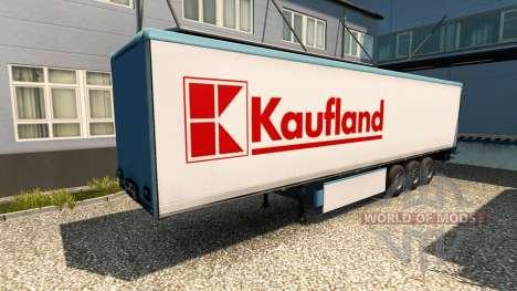 Скин Kaufland на полуприцеп для Euro Truck Simulator 2