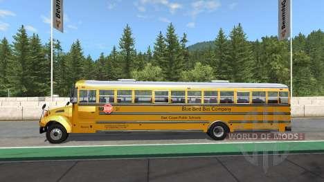 Blue Bird American School Bus v2.1 для BeamNG Drive