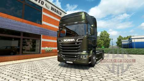 Scania R V8 v2.0 для Euro Truck Simulator 2