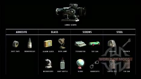 1000 материалов для крафта для Fallout 4