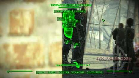 Точность в V.A.T.S. для Fallout 4