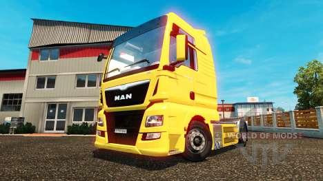 MAN TGX Euro 6 для Euro Truck Simulator 2