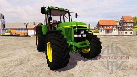 John Deere 7710 v2.3 для Farming Simulator 2013