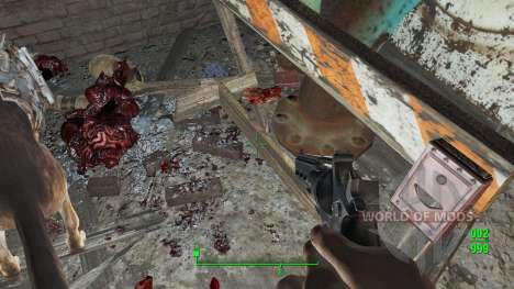 Enhanced Blood Textures для Fallout 4