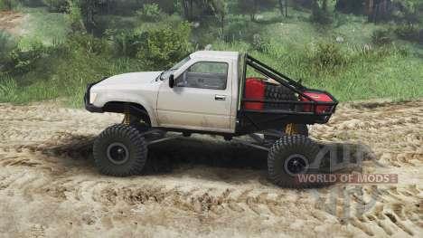 Toyota Hilux Truggy 1990 [23.10.15] для Spin Tires