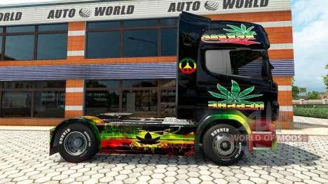 Скин Reggae на тягач Scania для Euro Truck Simulator 2