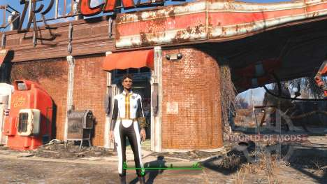 Белый комбинезон Убежища 111 для Fallout 4