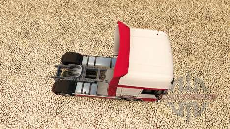 Скин Kitty Logistik на тягач DAF для Euro Truck Simulator 2