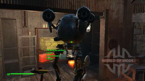 Исправление диалогов (Русский) для Fallout 4