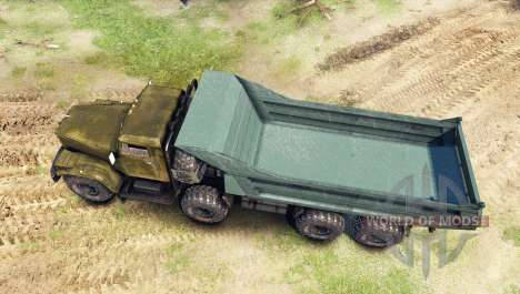 КрАЗ-256 8x8 Custom для Spin Tires