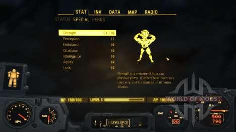 Максимальное количество S.P.E.C.I.A.L. для Fallout 4