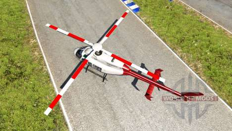 Bell 407 v1.01 для BeamNG Drive
