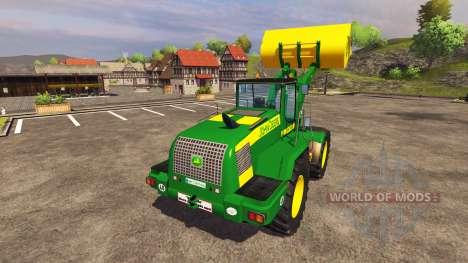 John Deere 624K v2.0 для Farming Simulator 2013