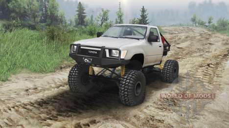 Toyota Hilux Truggy 1990 [23.10.15] для Spin Tires