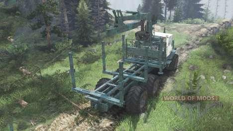 Т-150К ХТЗ [зелёный] [08.11.15] для Spin Tires