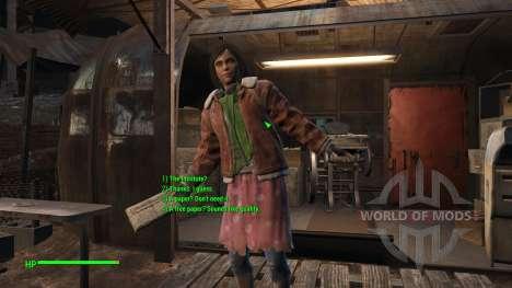Исправление диалогов (English) для Fallout 4