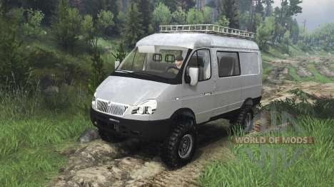 ГАЗ-221717 [08.11.15] для Spin Tires