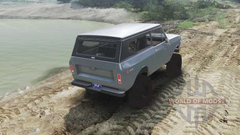 International Scout II 1977 [agent silver] для Spin Tires