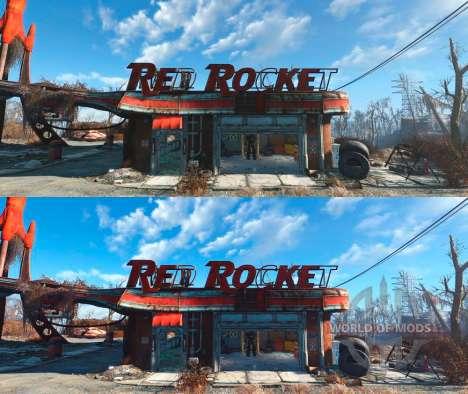 Enhanced Wasteland Preset для Fallout 4