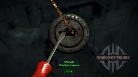 Лёгкий взлом замков для Fallout 4