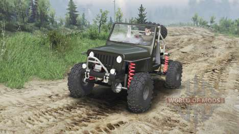 Jeep Wrangler JK8 Crawler [23.10.15] для Spin Tires