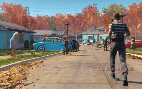Разблокировка двери в доме до войны для Fallout 4