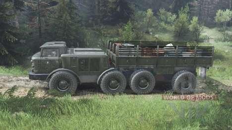 ЗиЛ-135ЛМ [08.11.15] для Spin Tires