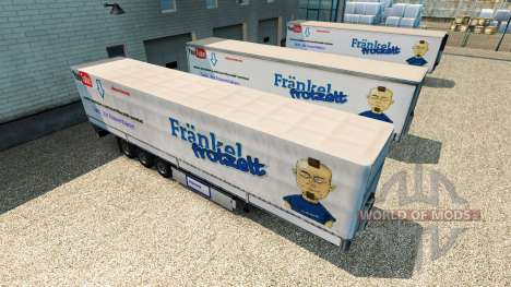 Скин Harald Frankel на полуприцеп для Euro Truck Simulator 2