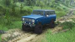International Scout II 1977 [bimini blue poly]