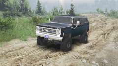 Chevrolet K5 Blazer 1975 [black and blue]