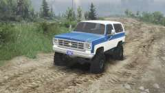 Chevrolet K5 Blazer 1975 [blue and white]