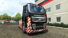 Скин Schwerlasttransport на тягач Volvo