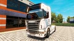 Скин Vabis Trans Group на тягач Scania
