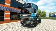 Скин Black Pearl на тягач Scania